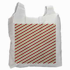 Stripes Striped Design Pattern Recycle Bag (one Side)