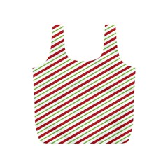 Stripes Striped Design Pattern Full Print Recycle Bag (s) by Celenk