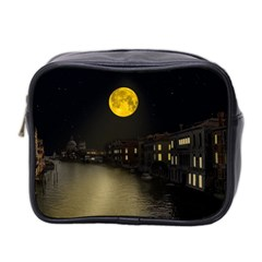 Travel Architecture Tourism Venice Mini Toiletries Bag (two Sides) by Celenk