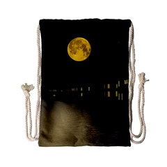 Travel Architecture Tourism Venice Drawstring Bag (small) by Celenk