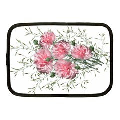 Carnations Flowers Nature Garden Netbook Case (medium) by Celenk