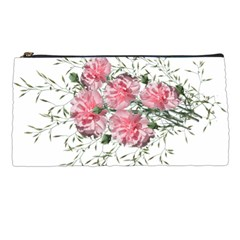 Carnations Flowers Nature Garden Pencil Cases