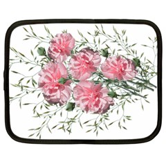 Carnations Flowers Nature Garden Netbook Case (xl) by Celenk