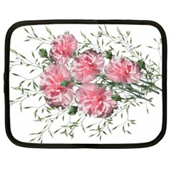 Carnations Flowers Nature Garden Netbook Case (xxl) by Celenk