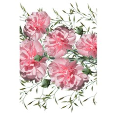 Carnations Flowers Nature Garden 5 5  X 8 5  Notebook by Celenk