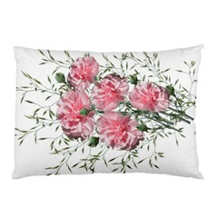 Carnations Flowers Nature Garden Pillow Case (two Sides) by Celenk