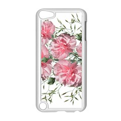 Carnations Flowers Nature Garden Apple Ipod Touch 5 Case (white) by Celenk