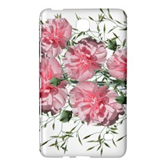 Carnations Flowers Nature Garden Samsung Galaxy Tab 4 (8 ) Hardshell Case  by Celenk