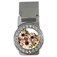 Sun Daisies Leaves Flowers Money Clips (cz)  by Celenk