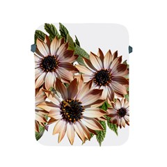 Sun Daisies Leaves Flowers Apple Ipad 2/3/4 Protective Soft Cases by Celenk