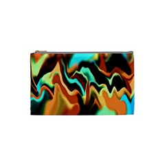 Infinity Mountains Ii Cosmetic Bag (small) by 5dwizard