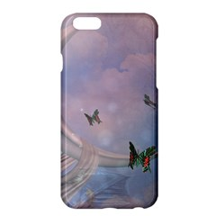 The Wonderful Moon With Butterflies Apple Iphone 6 Plus/6s Plus Hardshell Case by FantasyWorld7
