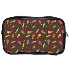 Ice Cream Pattern Seamless Toiletries Bag (one Side) by Celenk