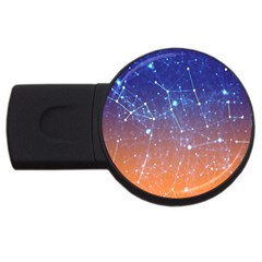 Abstract Pattern Color Design Usb Flash Drive Round (2 Gb)