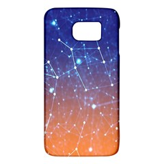 Abstract Pattern Color Design Samsung Galaxy S6 Hardshell Case  by Celenk