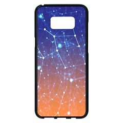 Abstract Pattern Color Design Samsung Galaxy S8 Plus Black Seamless Case