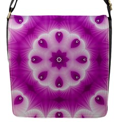 Pattern Abstract Background Art Flap Closure Messenger Bag (s)