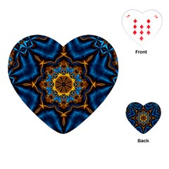 Pattern Abstract Background Art Playing Cards (heart) by Celenk