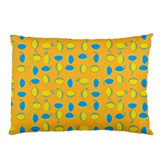 Lemons Ongoing Pattern Texture Pillow Case (two Sides)