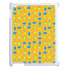 Lemons Ongoing Pattern Texture Apple Ipad 2 Case (white)