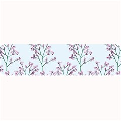 Flower Pattern Pattern Design Large Bar Mats