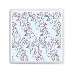 Flower Pattern Pattern Design Memory Card Reader (square) by Celenk