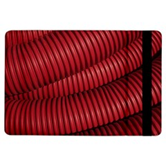 Tube Plastic Red Rip Ipad Air Flip by Celenk