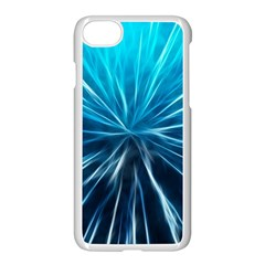 Background Structure Lines Apple Iphone 8 Seamless Case (white)