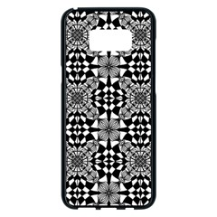 Fabric Design Pattern Color Samsung Galaxy S8 Plus Black Seamless Case