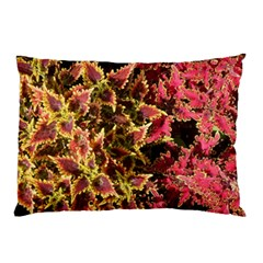 Plant Leaves Foliage Pattern Pillow Case (two Sides)