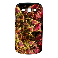 Plant Leaves Foliage Pattern Samsung Galaxy S Iii Classic Hardshell Case (pc+silicone) by Celenk