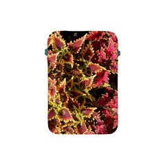 Plant Leaves Foliage Pattern Apple Ipad Mini Protective Soft Cases by Celenk
