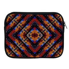 Kaleidoscope Art Pattern Ornament Apple Ipad 2/3/4 Zipper Cases