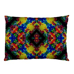 Kaleidoscope Art Pattern Ornament Pillow Case (two Sides)