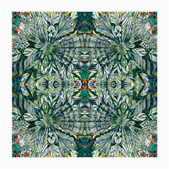 Pattern Design Pattern Geometry Medium Glasses Cloth (2 Side) by Celenk