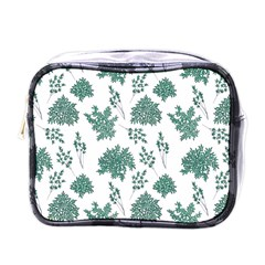 Flower Pattern Pattern Design Mini Toiletries Bag (one Side) by Celenk