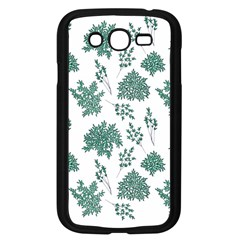 Flower Pattern Pattern Design Samsung Galaxy Grand Duos I9082 Case (black)