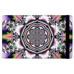 Pattern Abstract Background Art Apple Ipad 2 Flip Case by Celenk