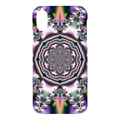 Pattern Abstract Background Art Apple Iphone X Hardshell Case by Celenk