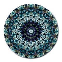 Pattern Abstract Background Art Round Mousepads