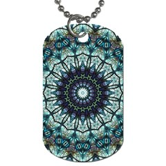 Pattern Abstract Background Art Dog Tag (one Side)