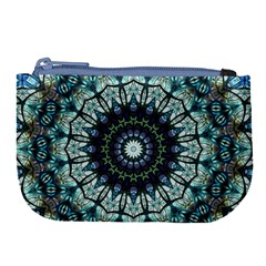 Pattern Abstract Background Art Large Coin Purse by Celenk