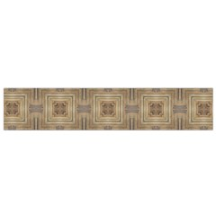 Abstract Wood Design Floor Texture Small Flano Scarf