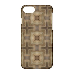 Abstract Wood Design Floor Texture Apple Iphone 7 Hardshell Case by Celenk