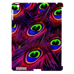 Peacock Feathers Color Plumage Apple Ipad 3/4 Hardshell Case (compatible With Smart Cover) by Celenk