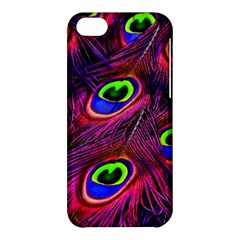 Peacock Feathers Color Plumage Apple Iphone 5c Hardshell Case by Celenk