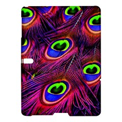 Peacock Feathers Color Plumage Samsung Galaxy Tab S (10 5 ) Hardshell Case  by Celenk