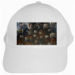 Background Metal Pattern Texture White Cap by Celenk