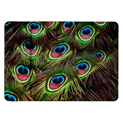 Peacock Feathers Color Plumage Samsung Galaxy Tab 8 9  P7300 Flip Case