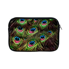 Peacock Feathers Color Plumage Apple Ipad Mini Zipper Cases by Celenk